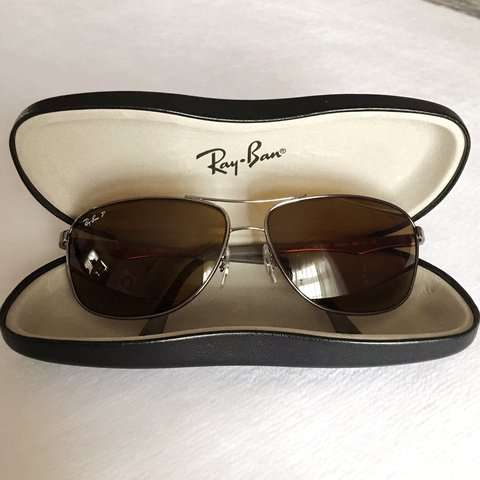 37361e12b7 Ray-Ban (RB3506) Wrap Aviator Sunglasses 🕶 Barely used but - Depop