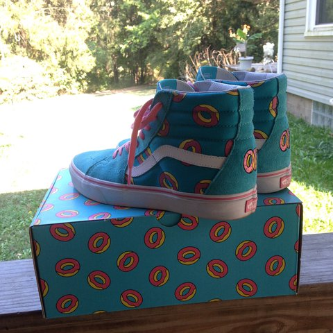 93cb6888a6cd ON HOLD  Vans Odd Future 2016 Collab!!! i only wore these i - Depop