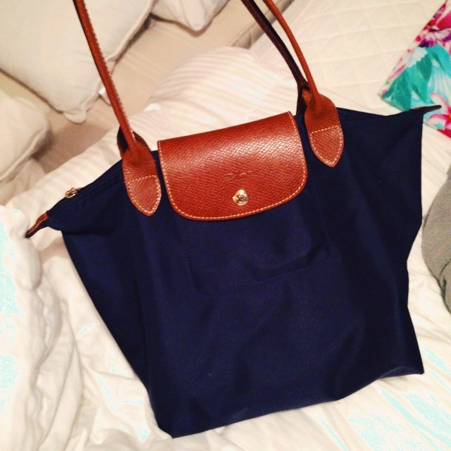 e91f66e113d9 Genuine longchamp le pliage bag. This is the small size with - Depop