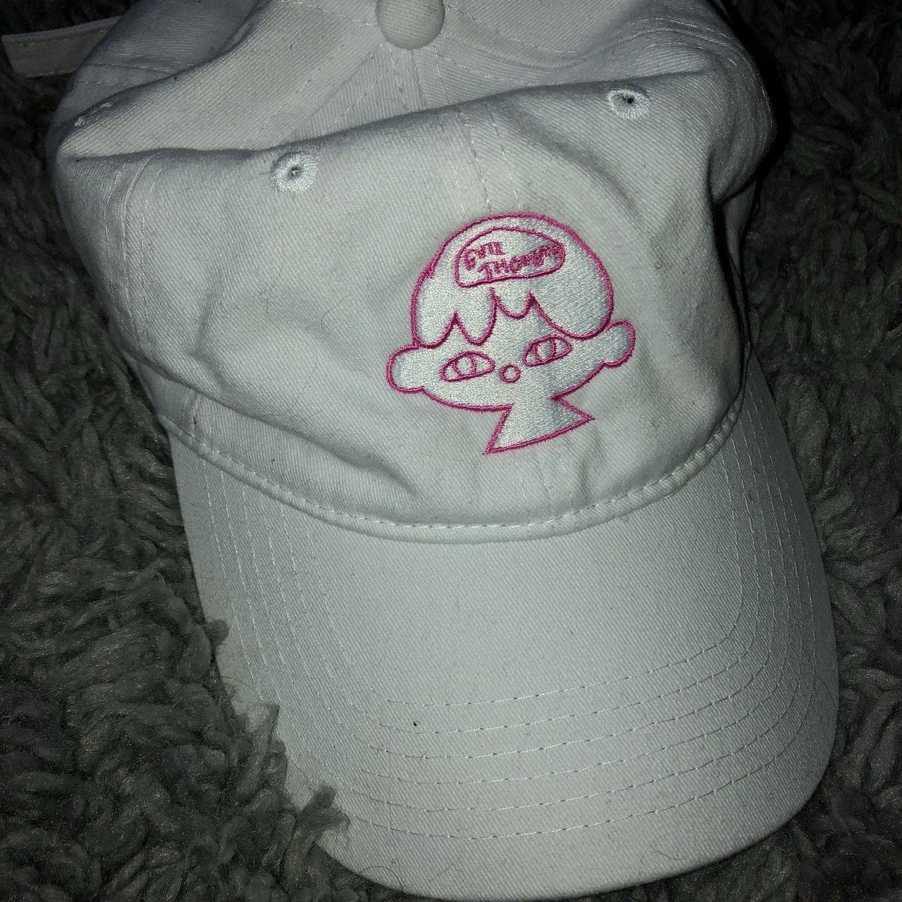 EVIL THOUGHTS HAT- •brand only sold this for a short amount - Depop 6b808ccbad0