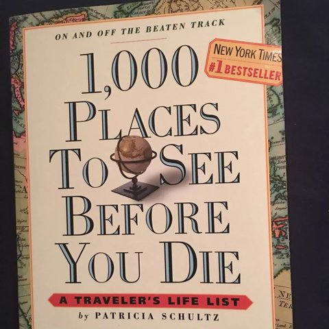 1000 Places To See Before You Die Paperback Book Guys