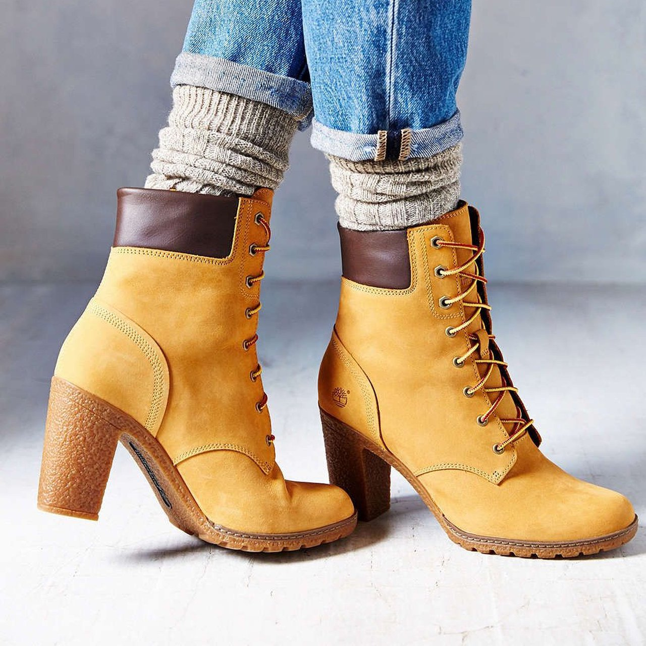 158b3dad2e01 Timberland Glancy wheat heeled boots