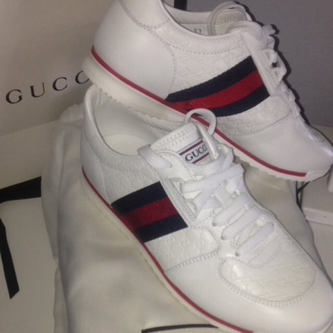 7b349235c @millimason. 2 years ago. Lumb, United Kingdom. Gucci sneakers, wore a few  times but ...