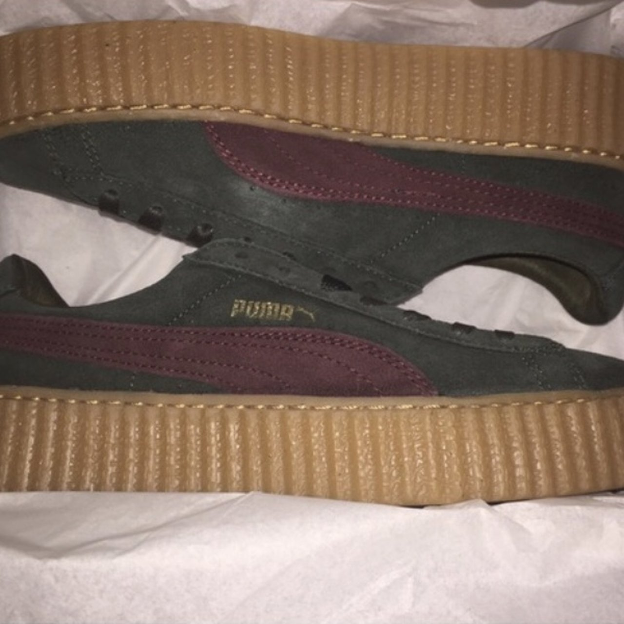 puma creepers suede bordeaux