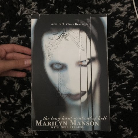 Marilyn Manson Long Hard Road Out Of Hell Book