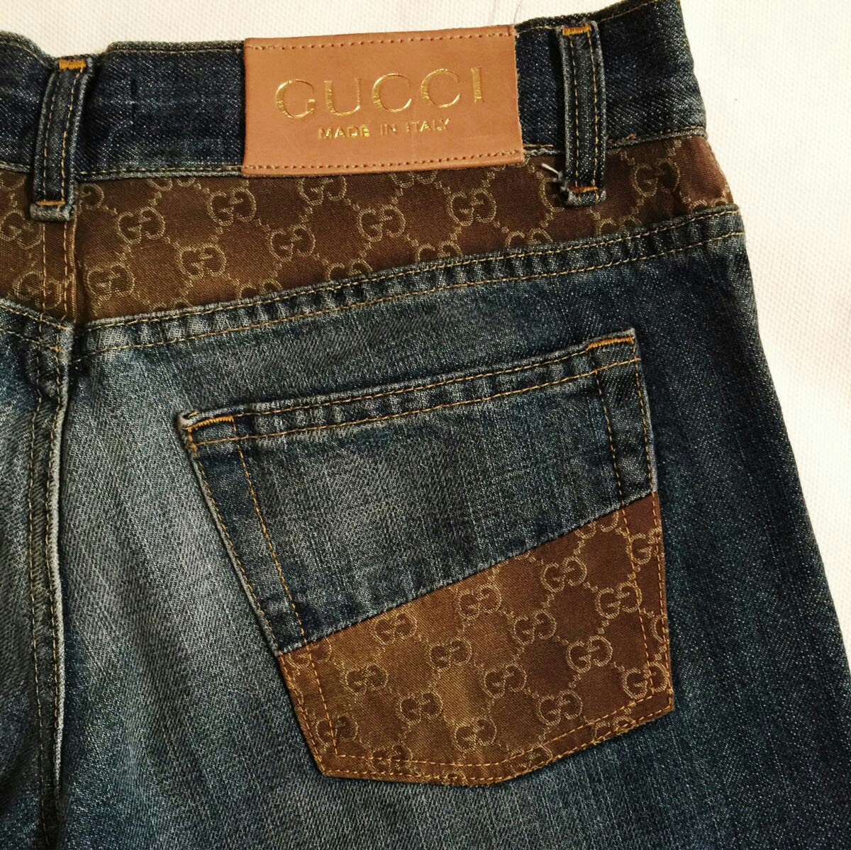 newest c715a 3e06f Jeans GUCCI donna. Jeans
