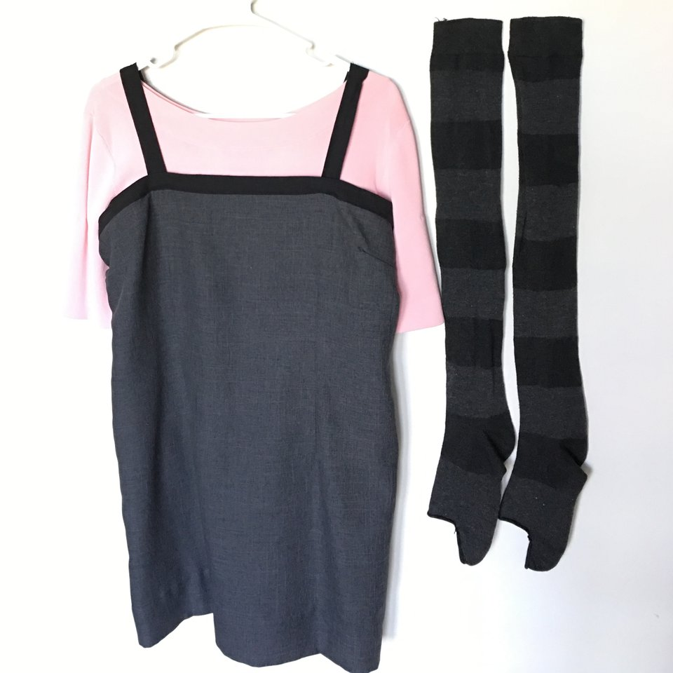 New Elfen Lied Lucy Cosplay Apparel free shipping