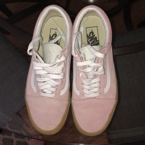 a350f089bd  cassidyhamilton. 9 months ago. United States. pink old skool vans size 8 .  wore ...