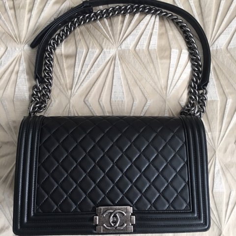94d12be6414c9c @janehchoi. last month. Torrance, United States. Authentic Chanel Boy Bag  FULL SET MADE IN FRANCE ...