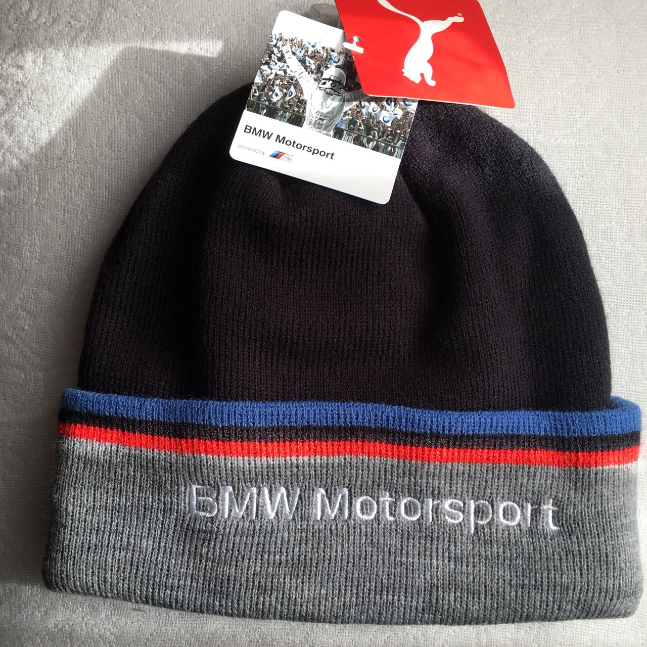Puma BMW Motorsport adult beanie. New - Depop 0842ed4947bf