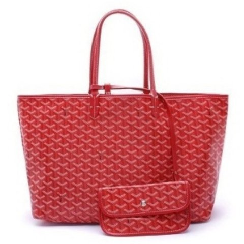 Red Goyard Bag Price Reflects High Quality Open To White Depop