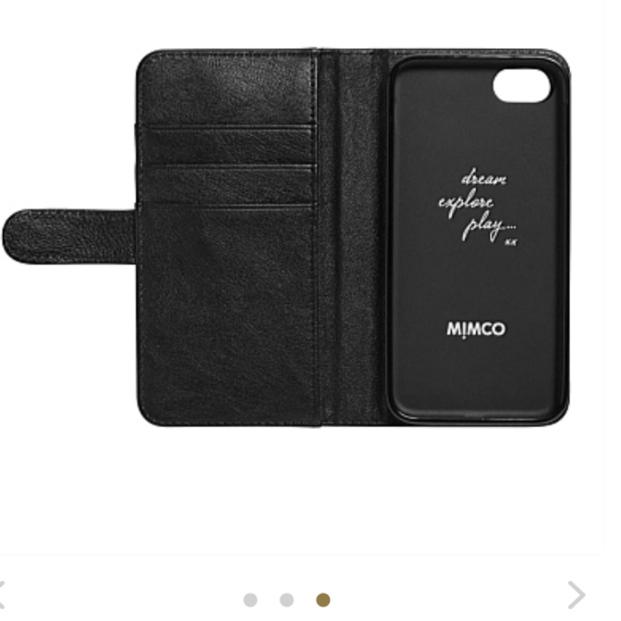 newest collection 32b99 aeb51 MIMCO IPHONE 6 FLIP PHONE CASE Used once Perfect... - Depop