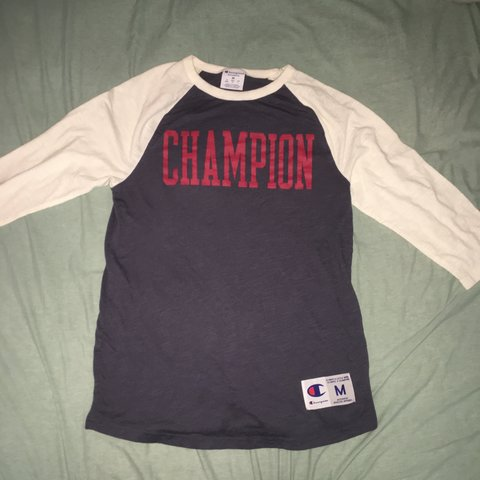 426e5c53 @tristan757. 3 months ago. Virginia Beach, United States. Authentic  champion baseball tee!