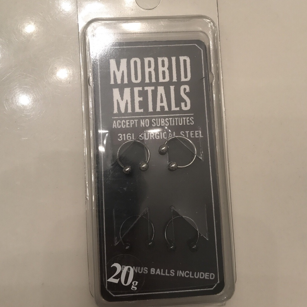 Surgical Steel Horseshoe Barbell 20g Sealed And Depop