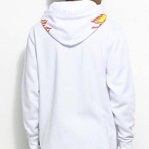 cae5163fdea620 THRASHER X VANS WHITE HOODIE Brand New with Tags - Depop