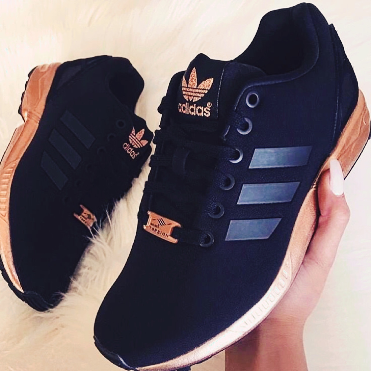 adidas rose and gold