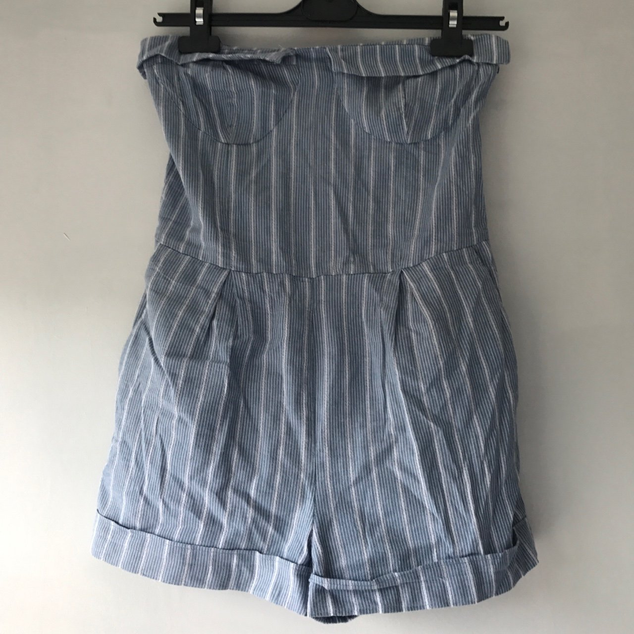 42fd3b00f028 Blue And White Striped Jumpsuit Primark - raveitsafe