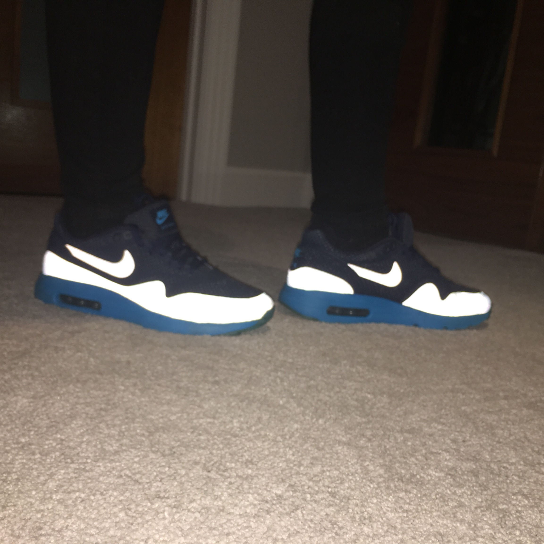 NIKE AIR MAX 1 ULTRA MOIRE MIDNIGHT NAVY 710 Depop