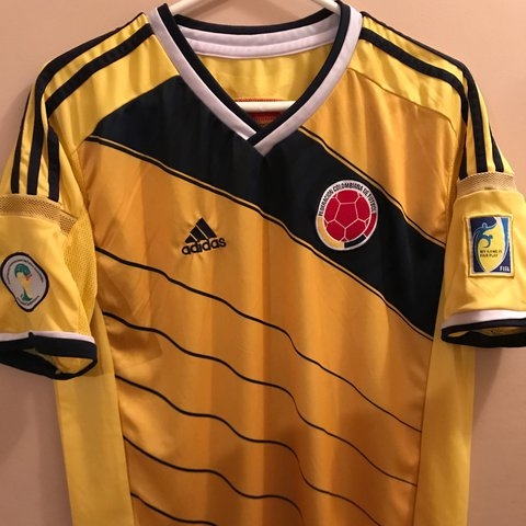 1482fbd7598 @patspro. 2 years ago. Miami, United States. Colombian National Soccer Team  Jersey ...