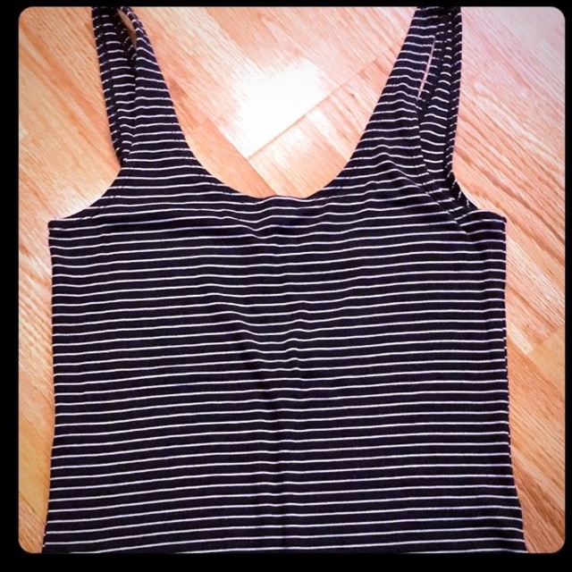 77f26f5ae212f New with tags Gap navy blue and white striped body suit. at - Depop