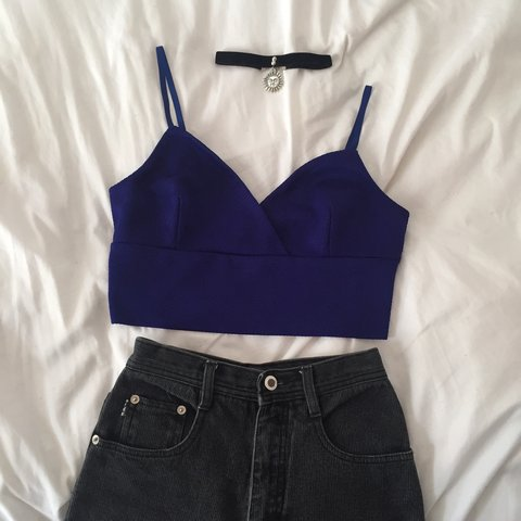 de1e315331 🦋 BEAUTIFUL ROYAL BLUE TANK TOP 🦋 Brand  Twik (from with - Depop
