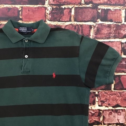d0aed227f Vintage Striped Polo Ralph Lauren Shirt Mens Small Preppy of - Depop