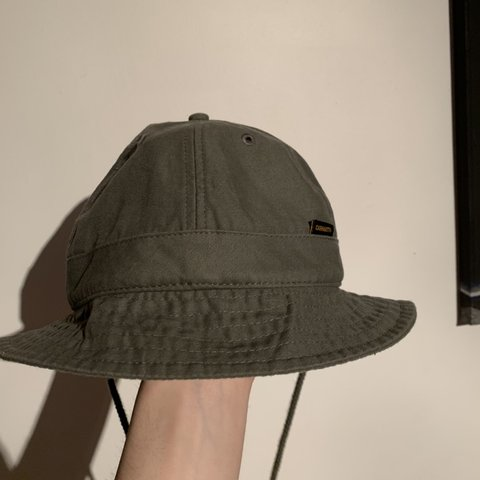 6c59bc7840753d @olliehead96. 3 months ago. Woking, United Kingdom. Ss18 carhartt WIP bell  shaped safari bucket hat