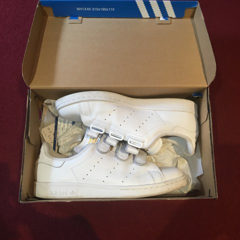 ebf28f6c1be31d Adidas Stan Smith Size uk 7. 8 10 condition. - Depop