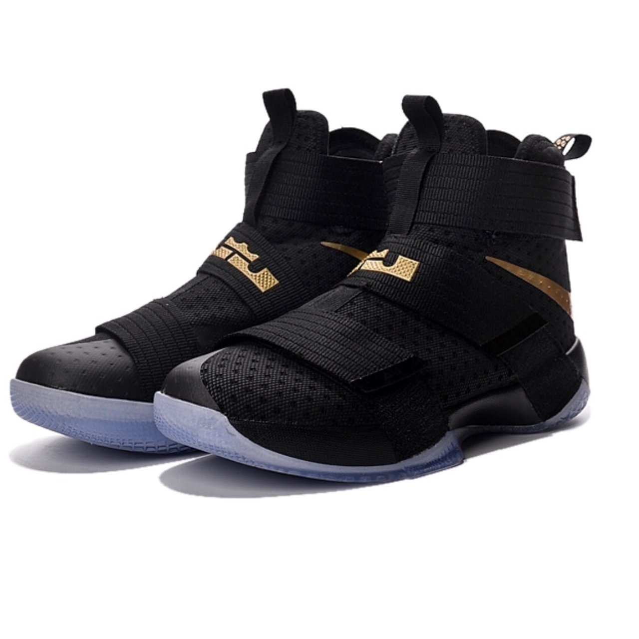 Nike Zoom LeBron Soldier 10 iD NOTE gentle used for couple - Depop d5d32a03399d