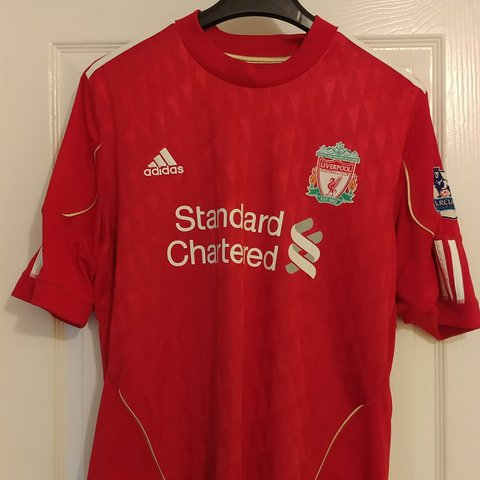 1bade7ccc Liverpool FC home shirts 2005-2006
