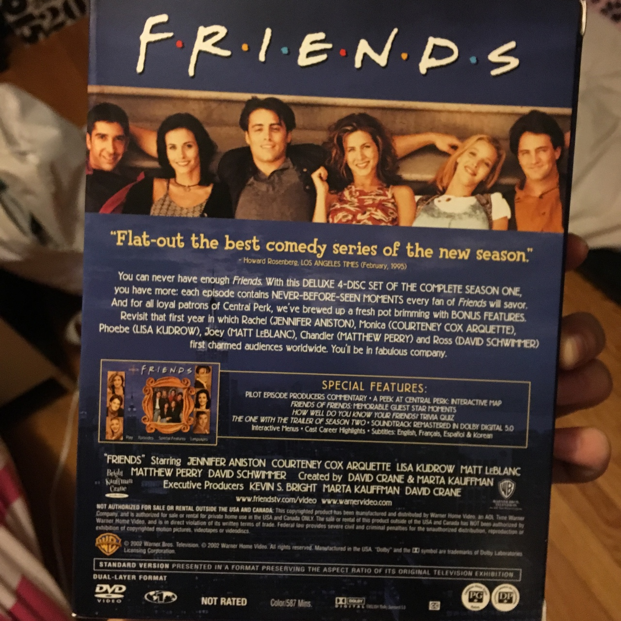Friends Season one (1) DVD collection  I bought this    - Depop