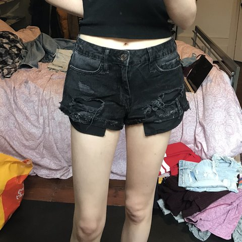River Island Denim Shorts Size 8 High Quality And Inexpensive Women's Clothing