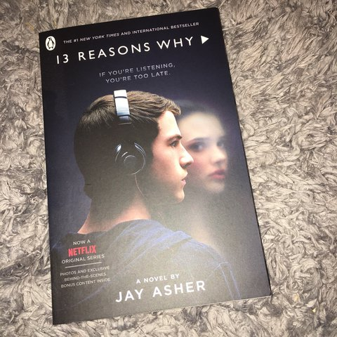 13 Reasons Why Book Novel By Jay Asher 5 13reasonswhy Depop