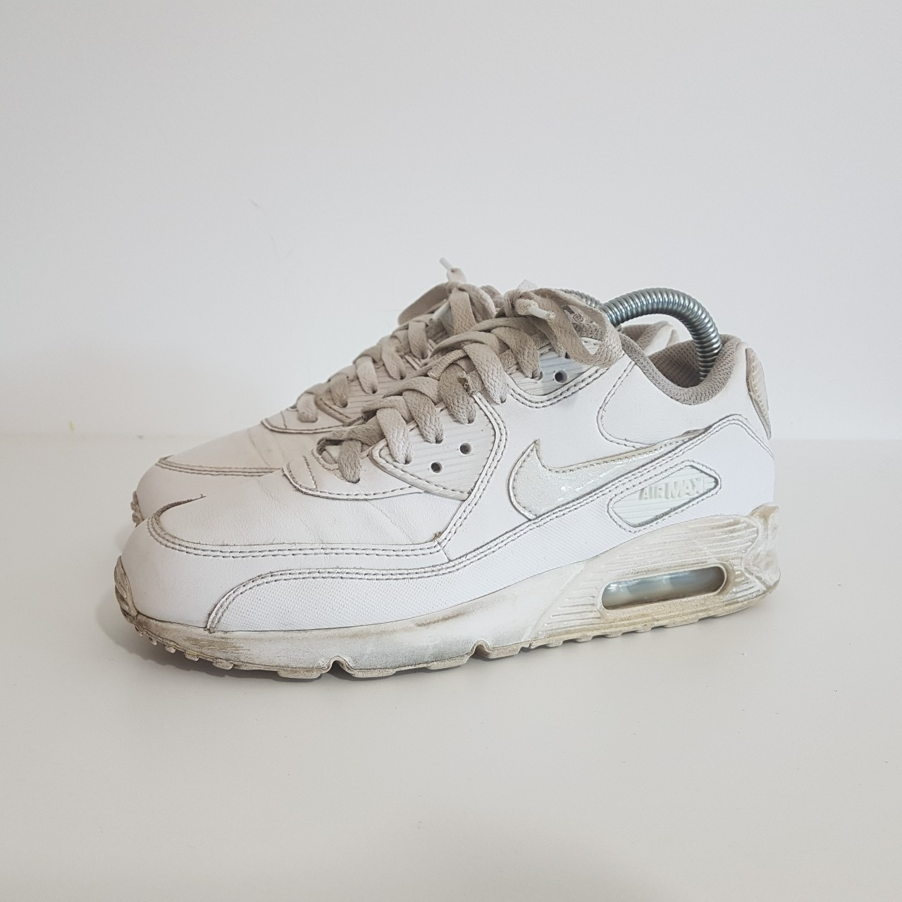 OFF WHITE X NIKE THE 10 AIR MAX 90 AA7293 001 off white X Kie Ney AMAX 90 low frequency cut sneakers black size US10.5(28.5cm) present gift