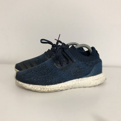 ec83ea5f73f Adidas Ultra Boost Uncaged Parley Blue size uk 6.5. Used no - Depop