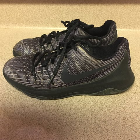 low priced 75e43 811e2 Pre-Owned Nike 768868-001 KD 8 Blackout Athletic Training US - Depop