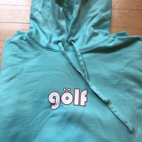 e0efedc01318b5 Golf wang blue hoodie bought at Golf Store. brand new