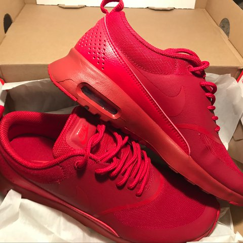 6a8e254df8 @gigigalasso. 2 years ago. Germantown, United States. WOMENS NIKE AIR MAX  THEA- GYM RED/ UNIVERSITY RED