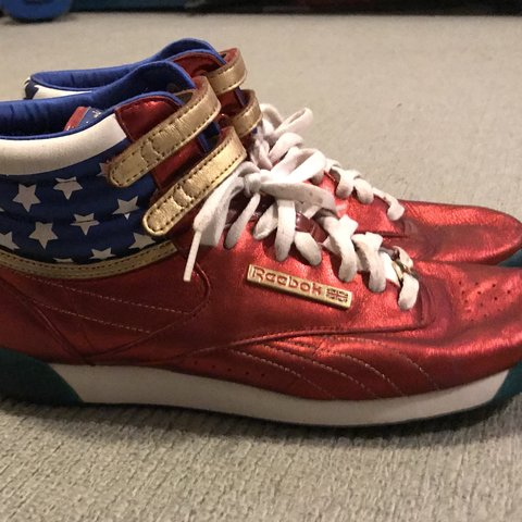 50a445ed480ebf Reebok Freestyle x Wonder Woman. Purchased in the US