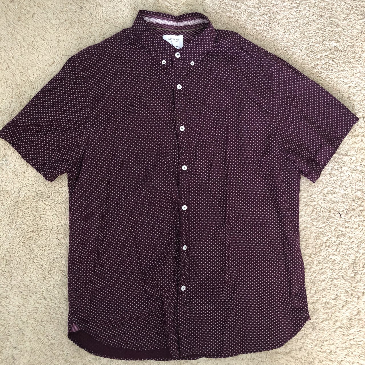 Cactus Man Brand Button Up Shirt Size Xl Very Good Depop