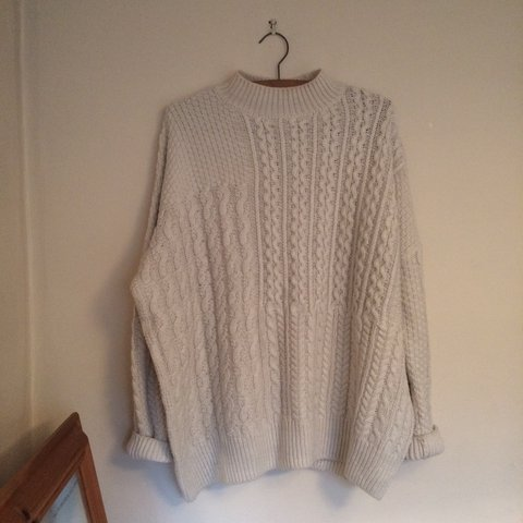 e2825dcf342c0c @awallace04. 2 years ago. London, United Kingdom. Topshop chunky knit/  fisherman jumper ...
