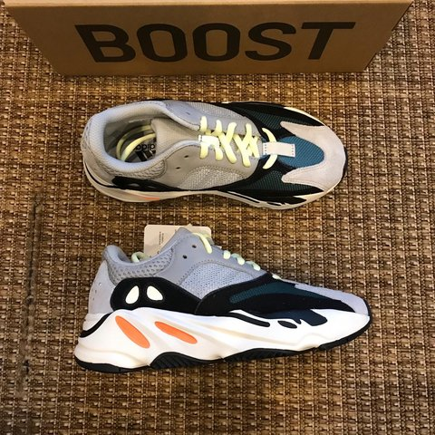 fc07f64d2 Adidas Yeezy 700 Wave Runner - Size 4 - brand new on sale - Depop