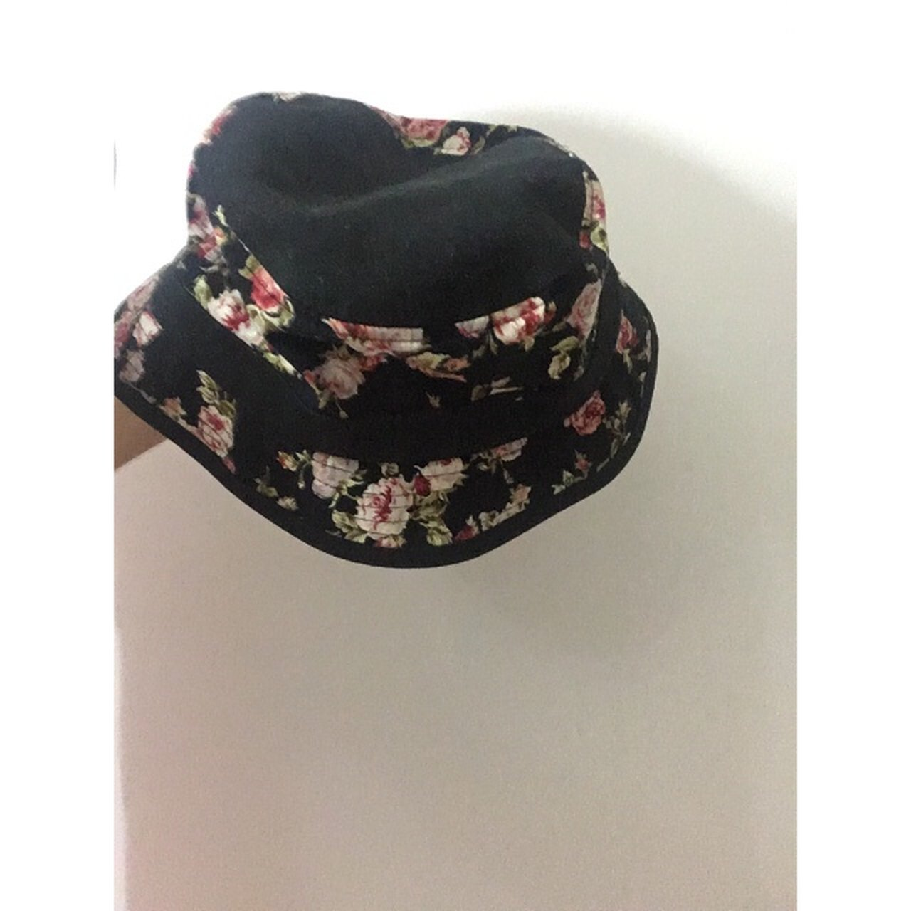c63940b02ad Primitive floral rose bucket hat. Small white marks. Nothing - Depop