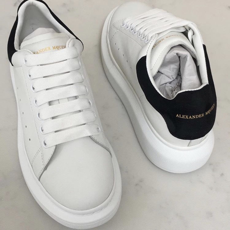 d63a08e20d2 REPLICA Alexander mcqueen trainers from Blonde Rose... - Depop