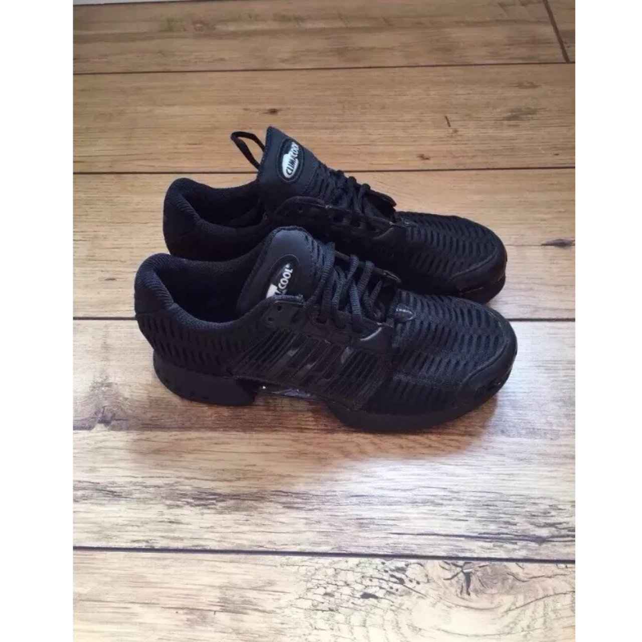 Brand new men's all black Adidas Climacool trainers. Depop
