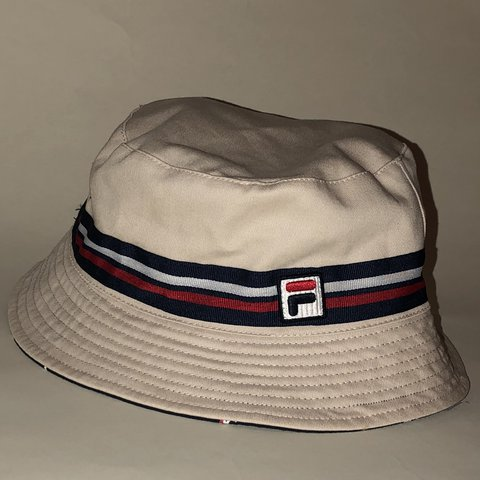 Fila Bucket Hat Reversible - Depop 2b04db2abab7