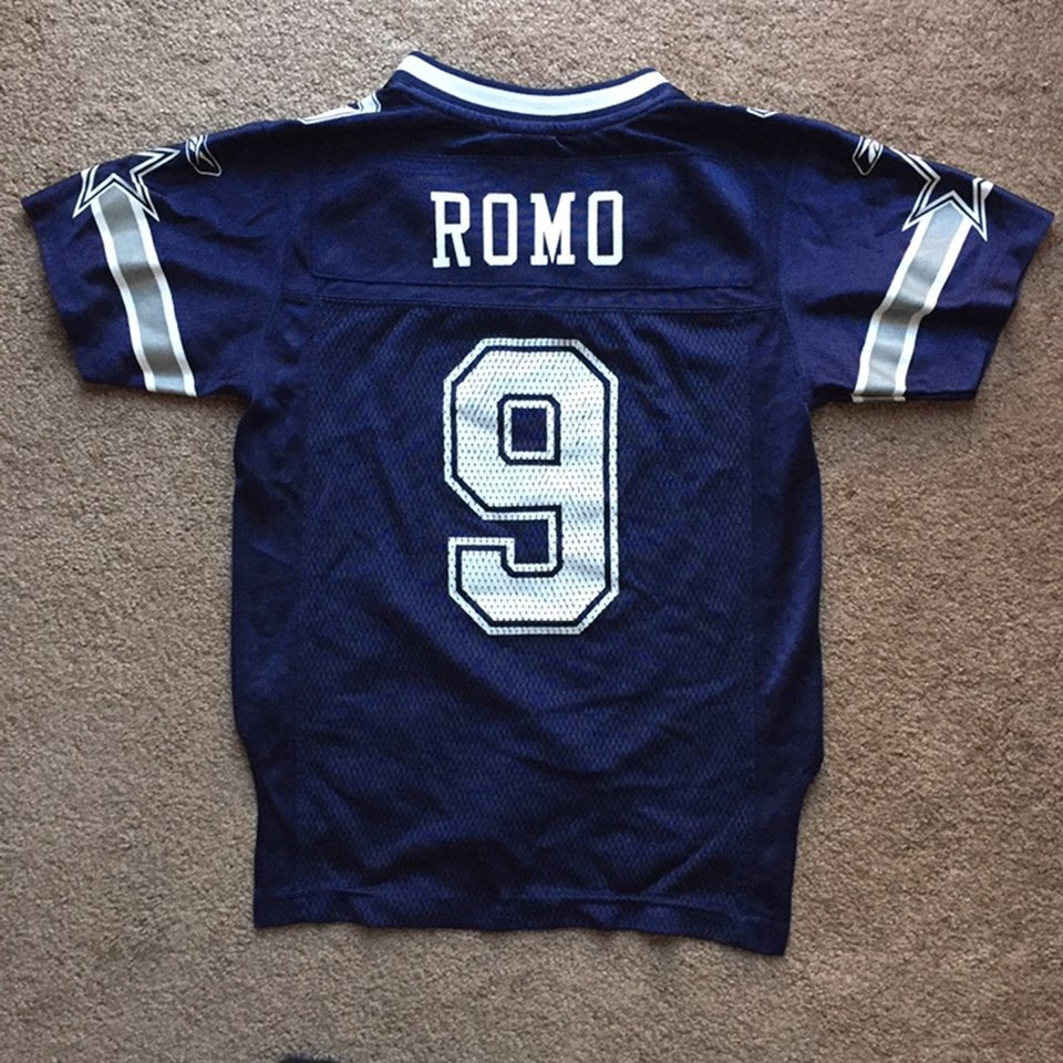 youth small dallas cowboys jersey