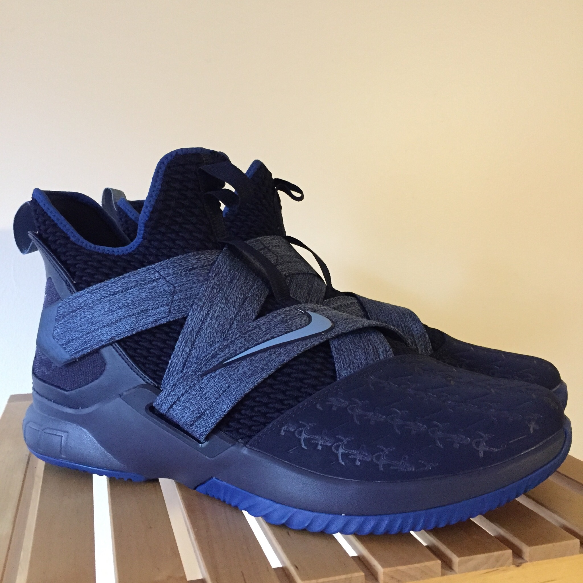 """Nike LeBron Soldier 12 """"Anchor"""" Brand"""