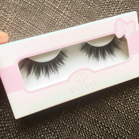 27a253be126 KOKO LASHES IN 'AMORE' RRP £11.50 DENSE DESIGN TO HELP & - Depop