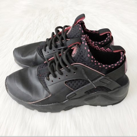 cheap for discount a74c9 412e0  adrithrifts. 10 months ago. Phoenix, United States. Nike Air Men s Huarache  Run Ultra SE Black Solar Red
